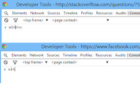 How does Facebook disable the browser's integrated Developer Tools ...