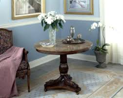 table for foyer. Small Round Foyer Table Pedestal Entryway Rustic With Marble For