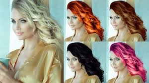 How To Change Hair Style how to change hair color blonde to other colors photoshop 6070 by wearticles.com