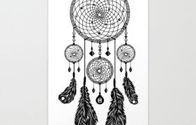 Black And White Dream Catcher Tumblr Extraordinary Dream Catcher Black And White Drawing Tattoos Designs Ideas