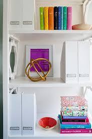 White Magazine Holders White Quatrefoil Bookcase with White Magazine Holders 44