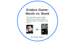 Book Vs Movie Venn Diagram Enders Game Movie Vs Book By Nathan Jacob On Prezi