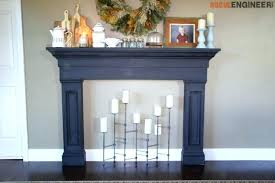 how to build a fake fireplace ctemporary corner put gas stove in