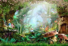 Amazon.com : SUSU 5x7ft(<b>150x220cm</b>) Green Spring Photography ...