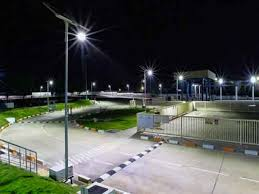 philips solar road and street lighting systems