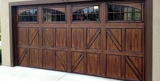 stained garage door metal garage doors with a year finish faux wood stained garage door