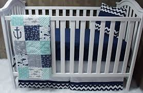 baby boy girl chevron baby bedding