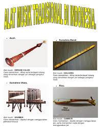 Masyarakat minang berpendapat bahwa saluang yang bagus tercipta dari talang jemuran kain yang ditemukan hanyut di sungai. Alat Musik Tradisional 34 Provinsi Indonesia