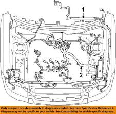ford engine wiring harness ebay  at New Engine Wiring Harness For 1996 Ford Ranger 2 3l 4 Cylinder