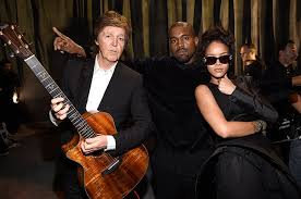 Paul Mccartney Billboard Chart History Rihanna Kanye West Paul Mccartneys Fourfiveseconds