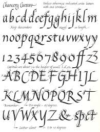 calligraphy alphabet template | More About Calligraphy: | Art ...