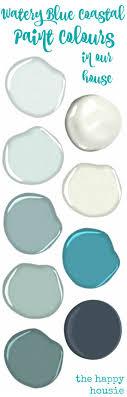watery paint colorOur Paint Colours  Coastal paint colors House and Beach