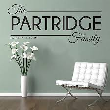 personalised family name wall art quote kitchen bedroom lounge est sticker decal on wall art sayings for bedroom with personalised family name wall art quote kitchen bedroom lounge est