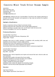 10 Truck Driver Sample Resume Xavierax
