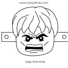 25 Images Of Lego Hulk Face Template Libchencom