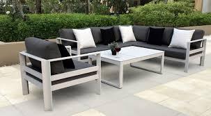 modern metal outdoor furniture. Furniture Buy Outdoor Modern Metal Patio Table Garden Dining