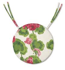 Pictures Gallery Of Round Bistro Chair Cushions For Latest Ulani Seat Cushion