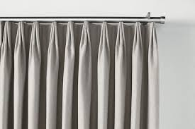 ... Master Bedroom Tailored Pleat Drapery On Traverse Rod | Drapes Intended  For Good Looking Curtains For ...