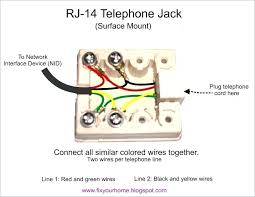 phone jack wiring end wiring diagram fascinating phone jack wiring end wiring diagram user phone jack wiring end