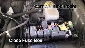 blown fuse check 2008 2012 jeep liberty 2009 jeep liberty sport 6 replace cover secure the cover and test component