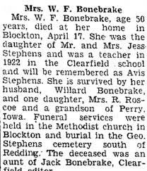 Clipping from Lenox Time Table - Newspapers.com