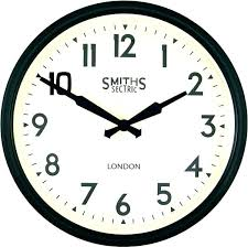 large vintage wall clock large vintage wall clocks antique smiths station clock wooden looking large retro large vintage wall