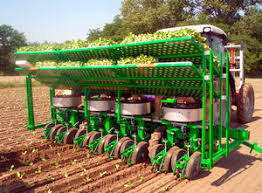 10 to 60 cm capacity: Block Transplanter All The Agricultural Manufacturers Videos