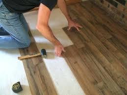 installing vinyl plank flooring over concrete install laminate floor over concrete