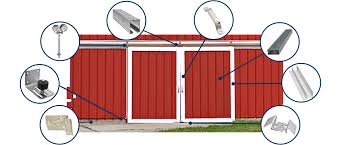 barn sliding garage doors. Different Track And Hanger Products Barn Sliding Garage Doors R