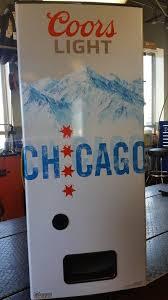 Coors Light Vending Machine Interesting CHICAGO Coors Light Beer Refresherator Refrigerator Vending