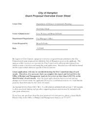 Business Proposal Cover Page Business Proposal Cover Letter Sample Pdf Grant Letters Plan Sampl