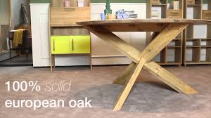 4 living presents the elegant modern oak round dining table from ethnicraft you