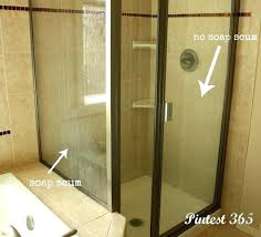cleaning shower doors with vinegar and baking soda icine org