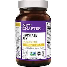 New Chapter, <b>Prostate 5LX</b>, <b>Holistic</b> Prostate Support, 120 Liquid ...