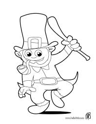 Small Picture Coloring Pages St Patrick Day Shamrock Coloring Pages Coloring