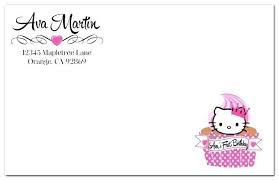 Hello Kitty Birthday Invitations Templates Elegant Card