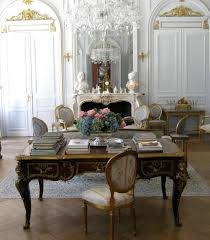 french country home office. French Country Home Office Decor Furniture Classic Black Desk White Pale Blue Embroid Chairs Louis Ornate Panel A I