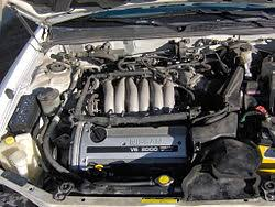 automobile repair nissan maxima 4th generation wikibooks open the vq30de engine and engine compartment of a 4th gen maxima