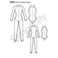 Bodysuit Sewing Pattern Unique Simplicity Simplicity Pattern 48 Misses' Knit And Woven Jumpsuit