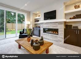 Woonkamer Interieur Best Luxe Woonkamer Interieur Stockfoto With