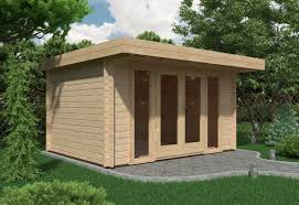 summer house office. Simple Office Milan Log Cabin 4m X 3m 44mm  Garden Room Summer House Office To