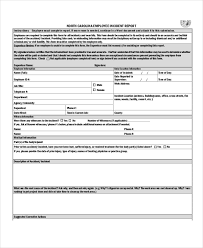 Incident Report Template Pdf Dolap Magnetband Co