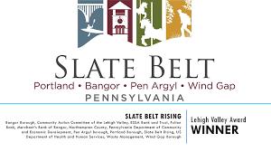 Image result for slate belt map pennsylvania