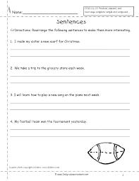 Writing Sentences Worksheets Grade 3 Practice Complete Ntences ...