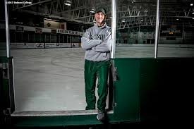 JAIME RICE BABSON HOCKEY BABSON COLLEGE MAGAZINE – Billie with an I.E.