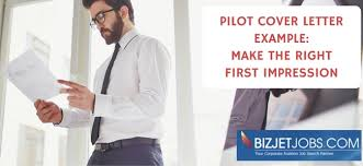 Pilot Cover Letter Example From Aviation Hr Expert Angie Marshall ...