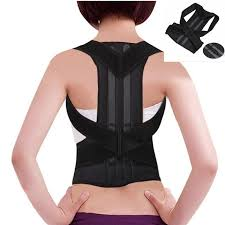 Back Support Women Magnetic Belt Medical Neck Collar Posture Corrector
