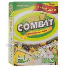 Купить <b>COMBAT Пластины</b> 10+2шт по низкой цене в Москве ...