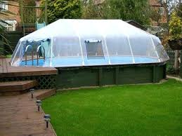 homemade above ground pool above ground swimming pool sun dome enclosures diy above ground pool heater