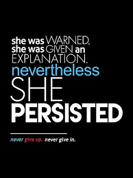 She Persisted Quote Stunning Nevertheless She Persisted Full Quote Posters By BootsBoots Redbubble